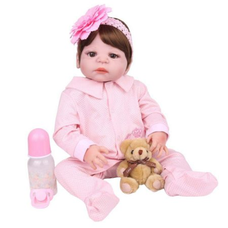 Boneca Bebe Reborn Laura Baby Pietra