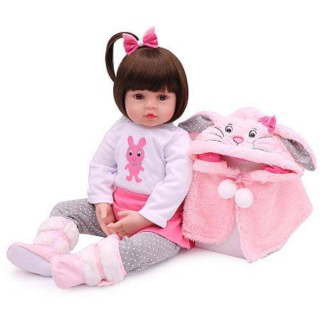 Boneca Bebe Reborn Laura Baby Sarah