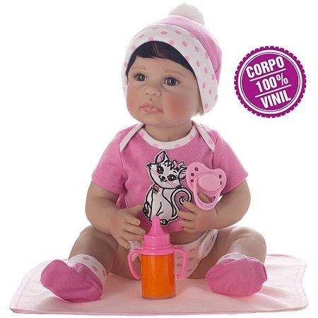 Boneca Bebe Reborn Laura Newborn Iolanda