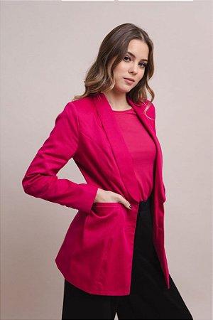 Maxi Blazer Feminino Heloísa Pink