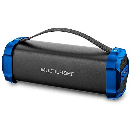 Caixa Som Amplificada Bazooka Multilaser 50w Portatil Bluetooth Sem Fio  BT/AUX/USB/FM de Alta Qualidade
