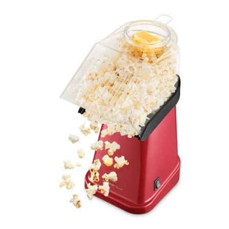 Pipoqueira Elétrica Sem Óleo 1200W Vermelha Multilaser 220V para Fazer Pipoca Profissional De Cinema Em Casa