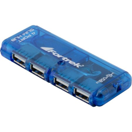 Adaptador Hub 4 Portas Usb HBU-402 Fortrek Universal Para Notebook Pc