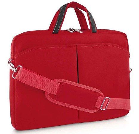 Bolsa Feminina Para Notebook 15,6 Vermelha Multilaser Bo171