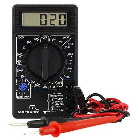 Multímetro Digital Para Medir Grandezas Elétricas Bateria