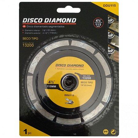 """DISCO DE CORTE 4"""" WIDIA DIAMANTADO TURBO CALAO Max RPM 13200"""