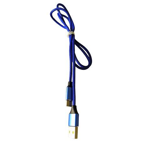 CABO USB X TIPO-C 1M 1 LINHA De alta Qualidade Multiuso Bom