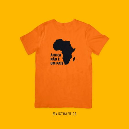 Camiseta Laranja - Idiomas