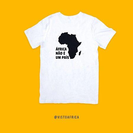 Camiseta Branca - Idiomas
