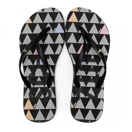 Chinelo Schutz Flip Flop Triangle Preto
