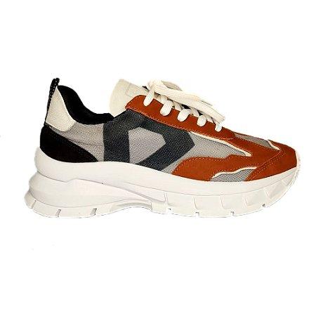 Tênis Sneaker Canela Tela