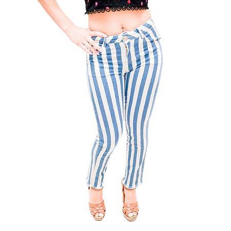 Calça Jeans Morena Rosa Listras