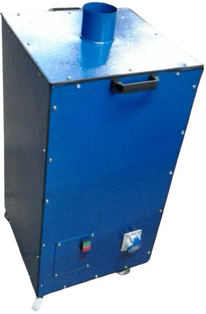 Máquina de sucção com filtro hepa