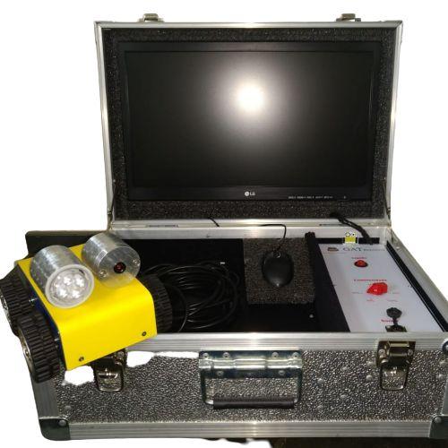Conjunto Robô com monitor 19'' + Máquina de Escovação + Máquina de Sucção