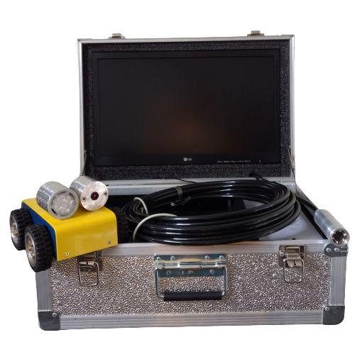 Conjunto Robô e Sonda com monitor 19'' + Máquina de Escovação + Máquina de Sucção