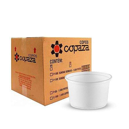 Pote Plástico 500ml | Copaza | Pacote com 50 Unidades