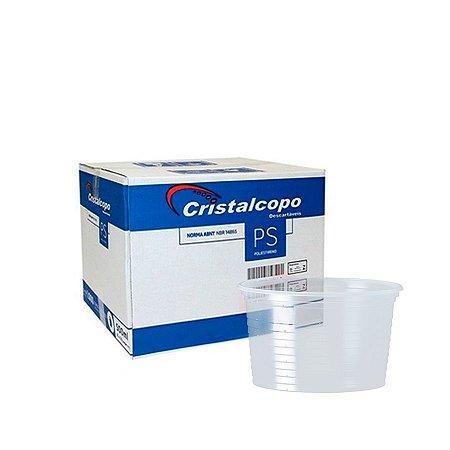 Pote Plástico 200ml   Cristalcopo   Pacote com 50 Unidades