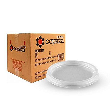 Tampa para Pote 200-250ml | Cristalcopo | Pacote com 50 Unidades