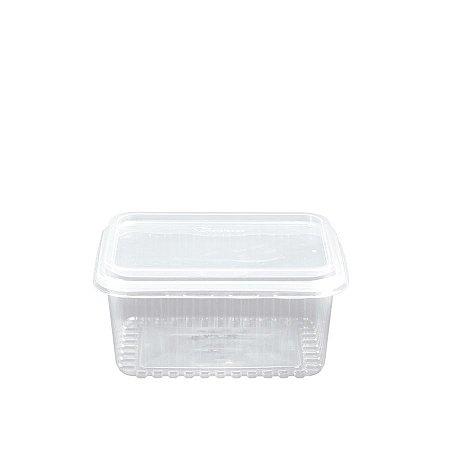 Pote Micro Retangular 1L   Cristalcopo   Pacote com 25 Unidades