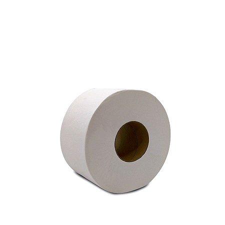 Papel Higiênico Simples 300m | Rolão Branco