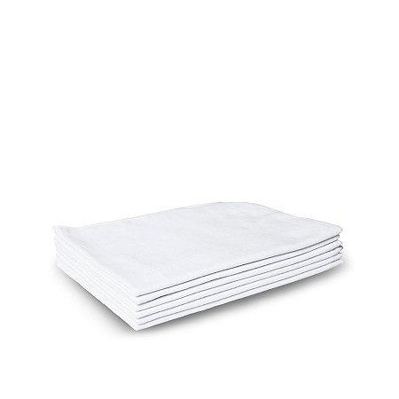 Flanela Branca Pequena 28x38cm