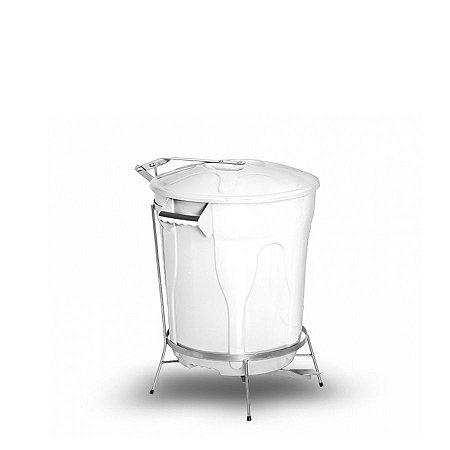 Lixeira Plástica com Pedal de Aço | 10L