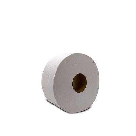 Papel Higiênico Simples 600m   Rolão Branco   8 Rolos
