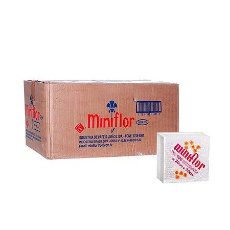 Guardanapo 30x30   Miniflor   Caixa com 30 Pacotes de 100 Folhas