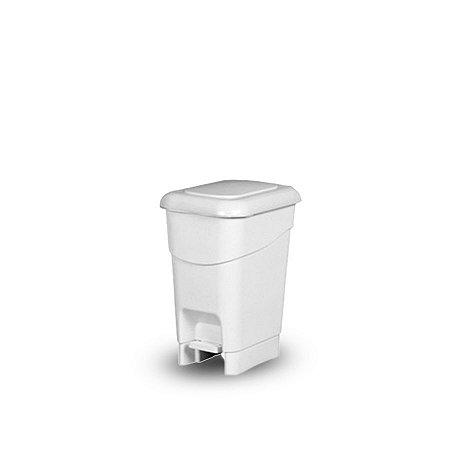 Lixeira Plástica com Pedal de Plástico   12L