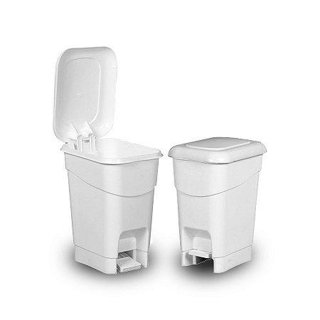 Lixeira Plástica com Pedal de Plástico   40L