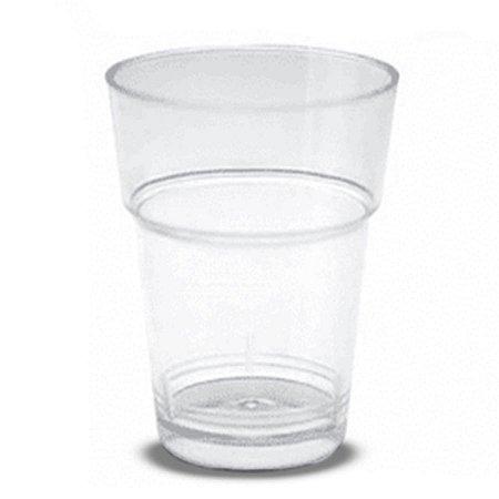 Copo de Acrílico 25ml | Cristal | Pacote com 10 Unidades