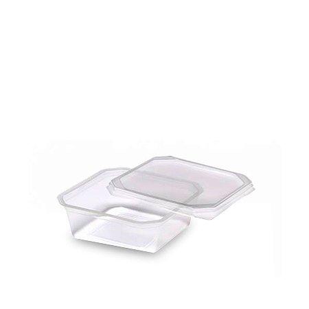 Pote Micro Quadrado 150ml | Pacote com 20 Unidades