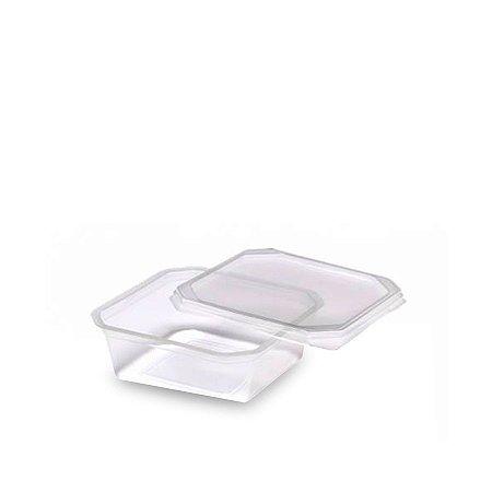Pote Micro Quadrado 150ml | Caixa com 3000 Unidades