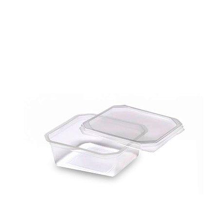 Pote Micro Quadrado 250ml | Pacote com 20 Unidades