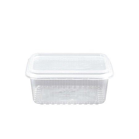 Pote Micro Retangular 750ml | Starpack | Pacote com 20 Unidades