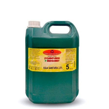 Água Sanitária 5L | Primulla
