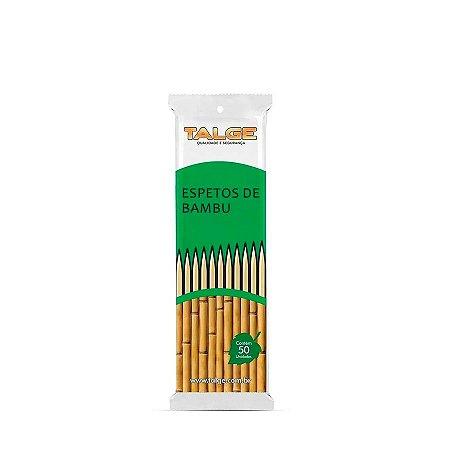 Espeto de Bambu 25cm | Talge | 50 Unidades