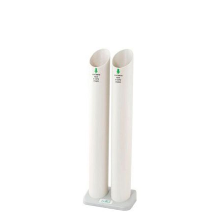 Lixeira de 2 Tubos para Copo de Água | Trilha