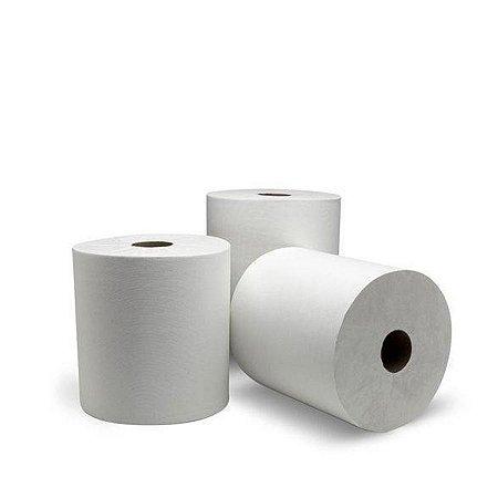 Bobina Toalha 100% Celulose   20cmx100m   Fardo com 8 Unidades