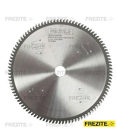 SERRA CIRC. P/ ALUMÍNIO/PVC Ø250X2,8X25,4 Z=100 TF (S878.2502810025)