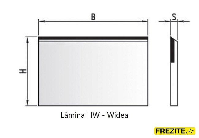 LÂMINA PARA APLAINAR EM HW - WÍDEA (400MM - ALTURA 30MM)