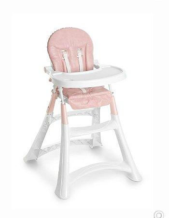 Cadeira Alta Premium Rosa