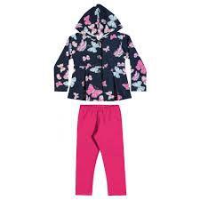 Conjunto menina casaco com legging Elian (231036)