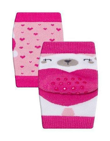 Joelheira Winston Fun Socks bichinhos - 0 a 12 meses