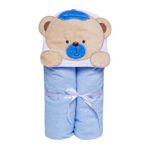 Toalha de banho Toys felfuda e forro fralda Bichinhos - Papi