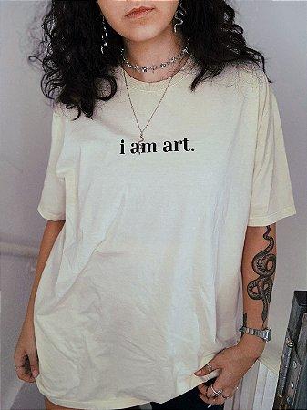 camiseta touch of god areia