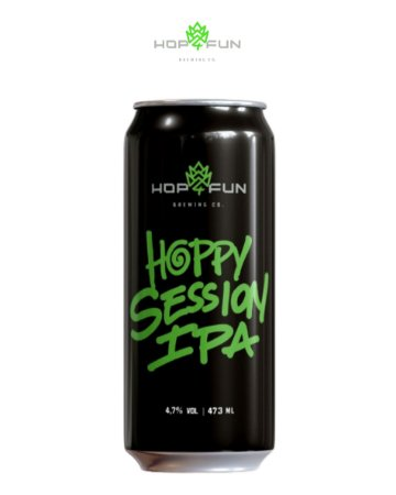 HOPPY SESSION IPA - LATA 473 ML