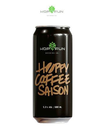 HOPPY COFFEE SAISON - LATA 473 ML