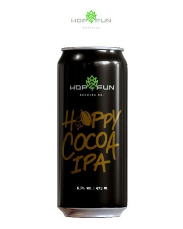 HOPPY COCOA IPA - LATA 473 ML