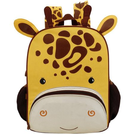 Mochila Escolar Infantil Colorizi Zoo Girafinha